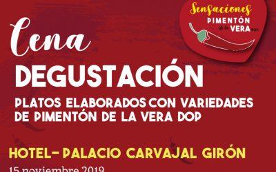 Cena Degustación en El Hotel Palacio Carvajal Girón 2019