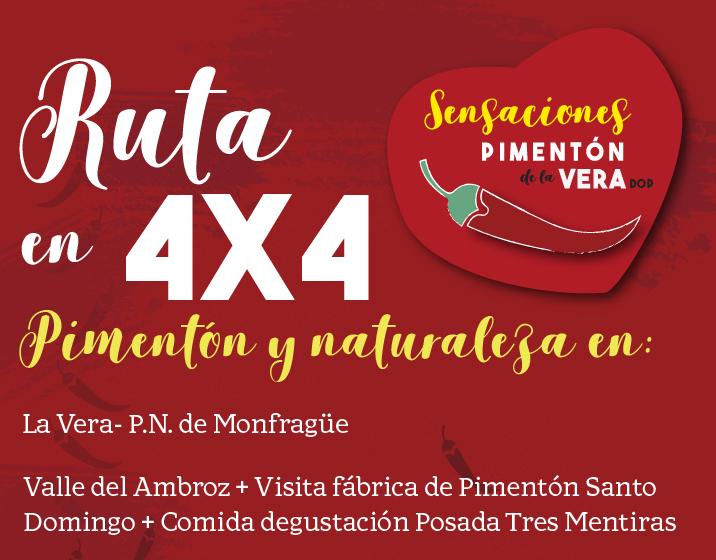 RUTA EN 4X4 2019
