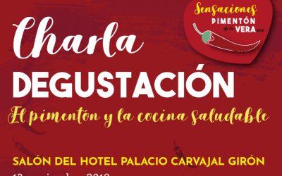 CHARLA DEGUSTACIÓN: EL PIMENTÓN Y LA COCINA SALUDABLE 2019