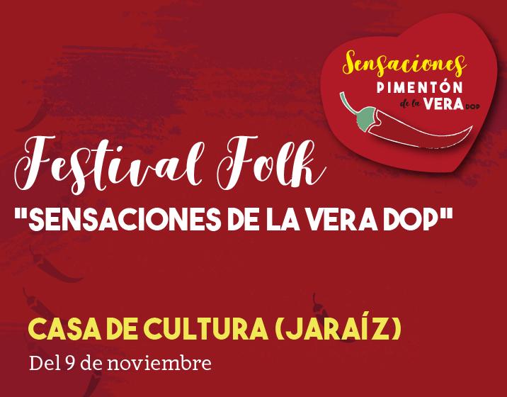FESTIVAL FOLK EN JARAÍZ DE LA VERA 2019