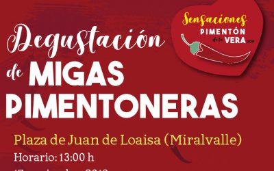 DEGUSTACIÓN DE MIGAS PIMENTONERAS SOLIDARIAS 2019