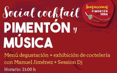 SOCIAL COCKTAIL + PIMENTÓN + MÚSICA 2019