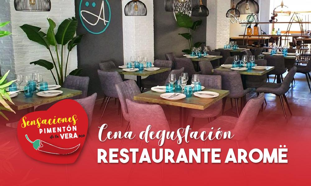 Cena Degustación Restaurante Aromë 2020