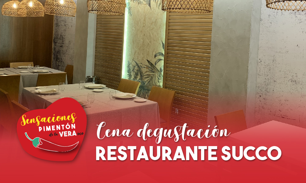 Cena Degustación Restaurante Succo 2020