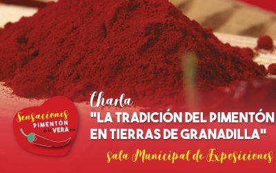 """Charla """"La tradición del pimentón en Tierras de Granadilla"""" 2020"""