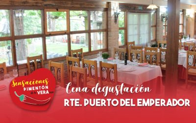 Cena Degustación Restaurante Puerto del Emperador 2020