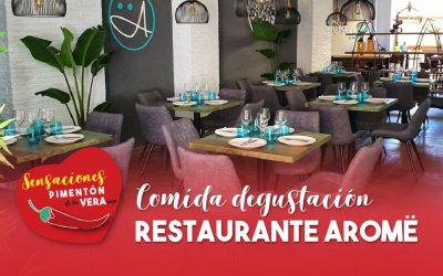 Comida Degustación Restaurante Aromë 2020