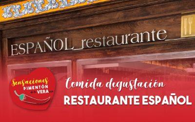 Comida Degustación Restaurante Español 2020