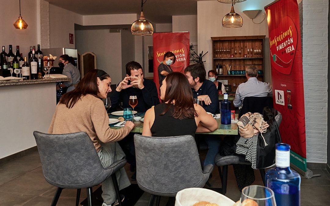 """Cena Degustación """"Sensaciones"""" Restaurante Aromë Plasencia"""